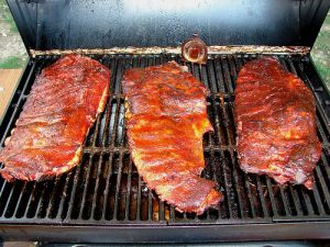 smoker lid gap foil seal ribs