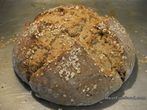 soda bread loaf