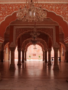 City Palace of the Pink City, Jaipur, Rajasthan.