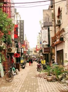 Khan Market, Delhi.