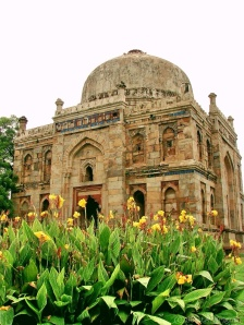 Lodi Gardens offers tranquility amidst thebustleof Delhi.